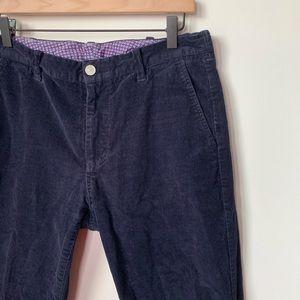 Bonobos Straight Leg Corduroy Pants 33x30